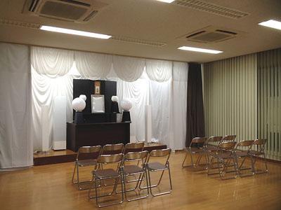 れんげ葬祭南福岡斎場1階ホール