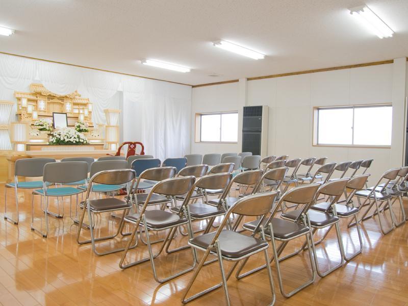 れんげ葬祭南福岡斎場2階ホール